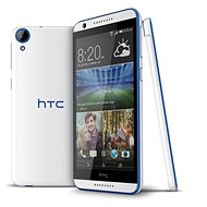 HTC Desire 620 Gloss White/Blue Trim