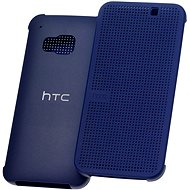 HTC Dot View M321 Hard Shell Flip Cover Dark Blue