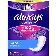 ALWAYS Extra Protect Large intímky 52 ks