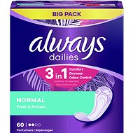 ALWAYS Fresh&Protect Normal intimky 60 ks - Slipové vložky