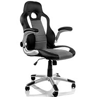 HAWAJ Nürburg racing design - black/grey/white - Gaming Chair