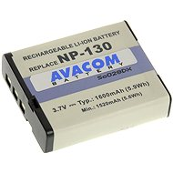 AVACOM for Casio NP-130 Li-ion 3.7V 1600mAh 5.9 Wh