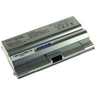 AVACOM für Sony VGN-VZ11, Fz 21, FZ50, VGP-BPS8, VGP-BPL8 Li-ion 11.1V 5200mAh / 56Wh Silber