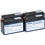 AVACOM Ersatzbatterie für die Erneuerung der RBC23 (4 St Batterien)