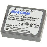 AVACOM for Panasonic CGA-S303, VW-VBE10 Li-ion 7.4V 760mAh