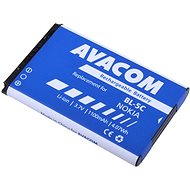 AVACOM for Nokia 6230, N70, Li-ion 3.7V 1100mAh (replacement BL-5C)