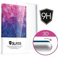 Icheckey Curved Tempered Glass Screen Protector Black für Samsung S7 - Schutzglas