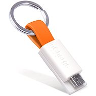 InCharge Micro USB Orange, 0.08 m