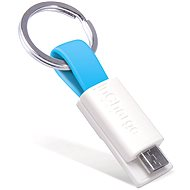 InCharge Micro USB Cyan, 0.08 m