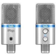 IK Multimedia iRig MIC Studio Silver - Stolní mikrofon
