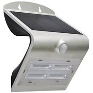 Immax SOLAR LED reflektor s čidlem, 3.2W, stříbrná - lampa