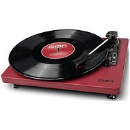ION Compact LP Burgundy - Gramophone