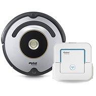 iRobot Roomba 616 + iRobot Braava jet 240 - Robotický vysavač
