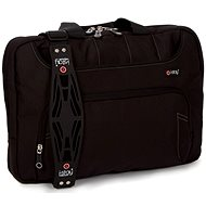 "i-stay Black 15.6 ""& Up to 12"" Organiser Laptop / Tablet Bag"