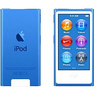 iPod Nano 16GB Blue 7th gen - MP3 přehrávač