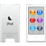 iPod Nano 16GB Silver 7th gen - MP3 přehrávač