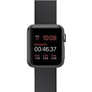 Apple Watch Sport 38 mm Kozmicky sivý hliník s čiernym remienkom z tkaného nylónu