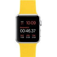 Apple Watch Sport 42mm Stříbrný hliník se žlutým řemínkem