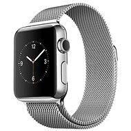 Apple Watch 38mm Nerez ocel s milánským tahem - Chytré hodinky