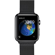 Apple Watch 38 mm stainless steel with cosmic black milanese loop