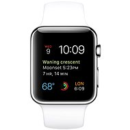 Apple Watch 42 mm Steel White