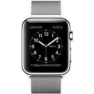 Apple Watch 42mm Nerez ocel s milánským tahem - Chytré hodinky