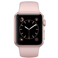 Apple Watch Series 1 38 mm Rose gold aluminum with sand-pink thong sports