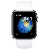 Apple Watch Series 2 38mm Nerezová oceľ s bielym športovým remienkom