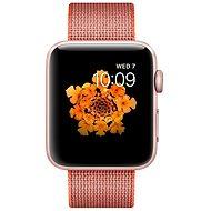 Apple Watch Series 2 42mm Ružovo zlatý hliník s vesmírne oranžovým / antracitovo šedým remienkom