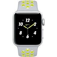 Inteligentné hodinky Apple Watch Series 2 Nike+ 38 mm Strieborný hliník s matnestrieborným/Volt športovým remienkom Nike