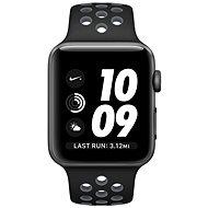 Apple Watch Series 2 Nike+ 38mm Aluminiumgehäuse, SpaceGrau mitNike Sportarmband, Schwarz/Cool Gray - Smartwatch