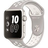 Apple Watch Series 2 Nike+ 38mm Stříbrný hliník s platinově bílým sportovním řemínkem Nike - Chytré hodinky