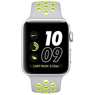 Apple Watch Series 2 Nike+ 42mm Silver Aluminium Case with Flat Silver/Volt Nike Sport Band