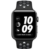 Apple Watch Nike+ 42mm cosmic gray aluminum with black/cool gray Nike sports strap