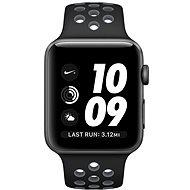 Apple Watch Nike + 42mm Vesmírne šedý hliník s čiernym / chladne šedým športovým remienkom Nike
