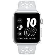 Apple Watch Series 2 Nike+ 42mm Stříbrný hliník s platinově bílým sportovním řemínkem Nike - Chytré hodinky