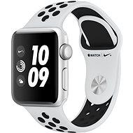 Apple Watch Series 3 Nike+ 38mm GPS Stříbrný hliník s platinovým/šedým sportovním řemínkem Nike