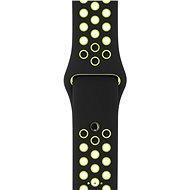 Apple Sport Nike 38mm Černý/Volt - Řemínek