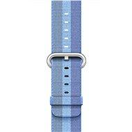 Apple 38mm Azurový z tkaného nylonu - Řemínek