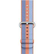 Apple 42mm Oranžový z tkaného nylonu - Řemínek