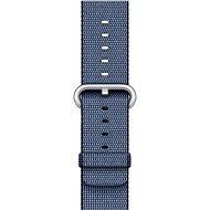 Apple 42mm polnočná modrá z tkaného nylonu - Remienok