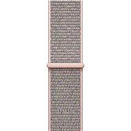 Apple 42mm Pískově růžový provlékací sportovní - Řemínek