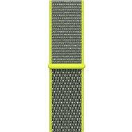 Apple 42mm Zářivě žlutý provlékací sportovní - Řemínek
