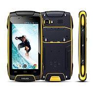 EVOLVEO StrongPhone Q8 LTE černo-žlutý - Mobilní telefon