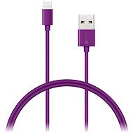 CONNECT IT Colorz Lightning Apple 1m purple - Data cable