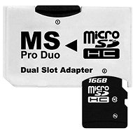 CONNECT IT PRO DUO 2x Micro SDHC - Adapter