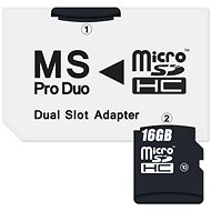 CONNECT IT MS PRO DUO 2 Micro SDHC - Adapter