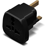 Cestovný adaptér CONNECT IT UK Power Adapter čierny