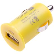 CONNECT IT InCarz Charger ONE 2.1A žlutá - Nabíječka do auta