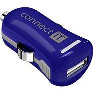 CONNECT IT InCarz Charger ONE 2.1A modrá (V2) - Nabíječka do auta